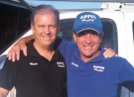 Bippus Roofing Owners Matt and Gordon
